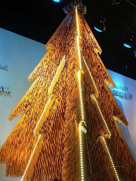 Pensil Natal pohon natal yang unik neko neko