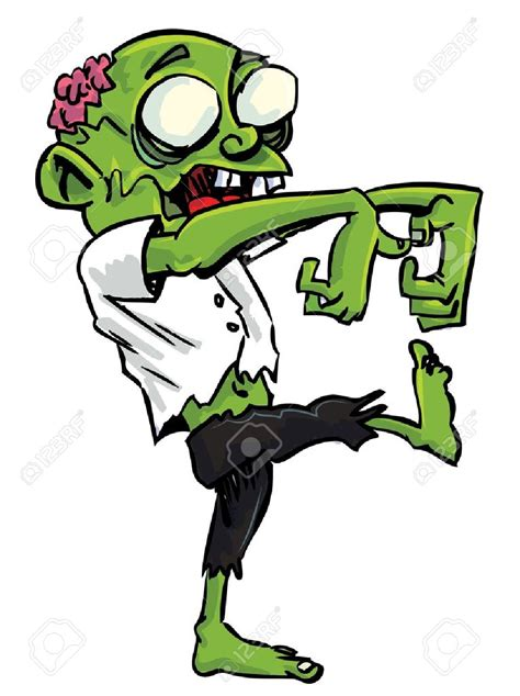 clipart zombie zombie clipart green pencil and in color zombie clipart
