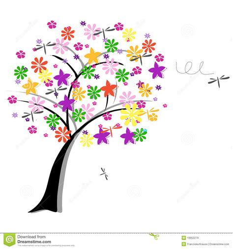flowers for tree flower tree royalty free stock images image 19952279