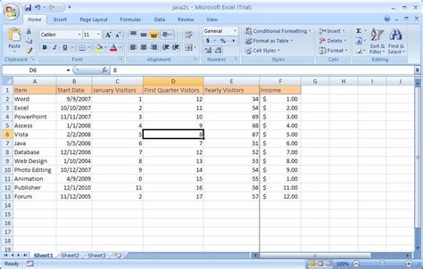 tutorial excel microsoft 2010 using the status bar status bar 171 introduction