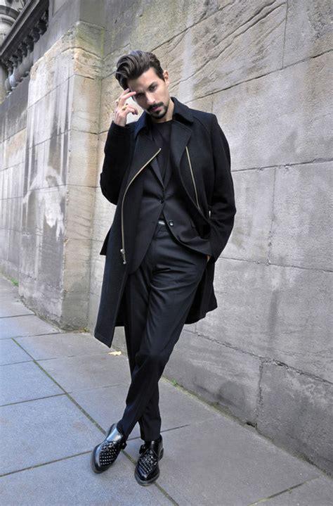 Segiempat Zara Hm Polos Mix black layering mens fashion magazine