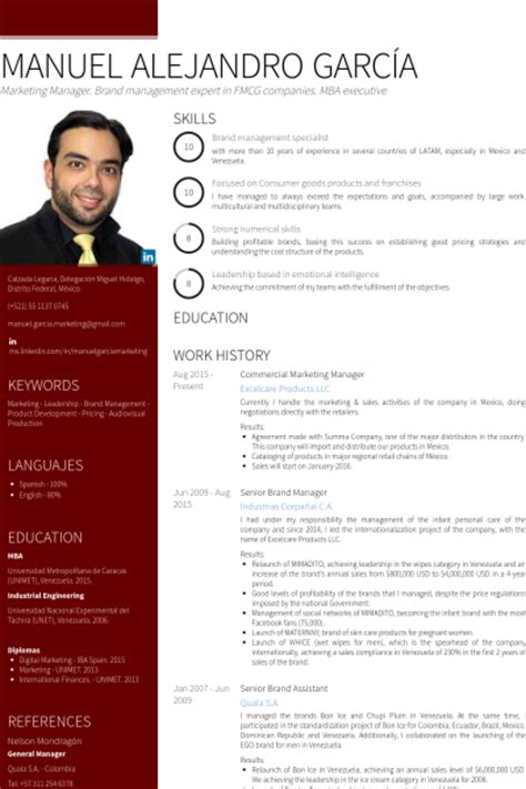 Mba Graduate Resume Examples by Commercial Manager Resume Samples Visualcv Resume