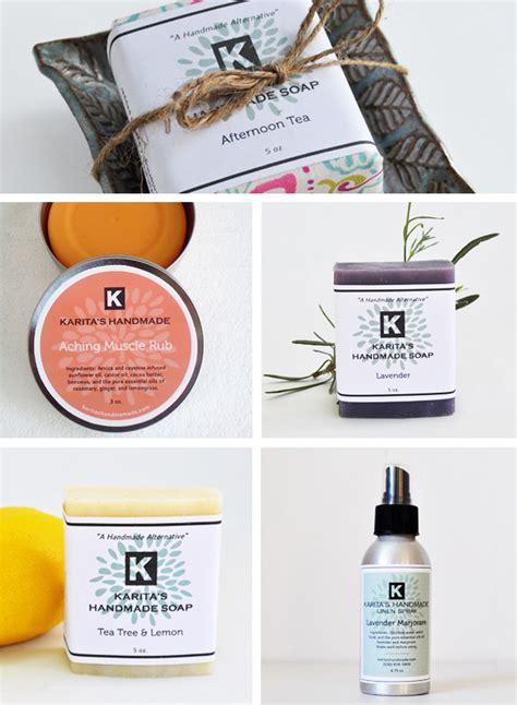 Handcrafted Skin Care - karita s handmade genesis duncan design