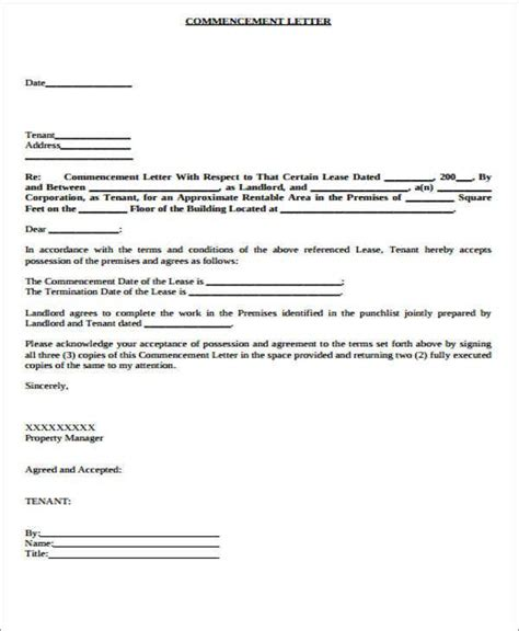 lease transfer letter template word format