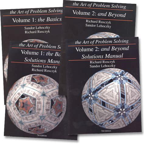 the of problem solving vol 1 the basics of problem solving vol 1 vol 2 texts solutions