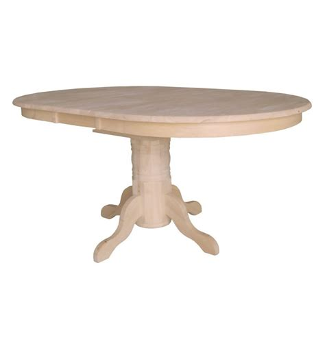 42x54 72 Inch Butterfly Dining Table Bare Wood Fine 72 Pedestal Dining Table