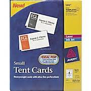 staples avery business cards avery 174 laser inkjet tent cards 2 quot x 3 1 2 quot staples 174