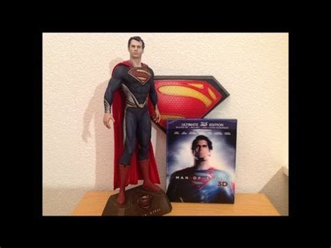 Kaos 3d Of Steel Limited Edition of steel limited edition bluray with collectors statue