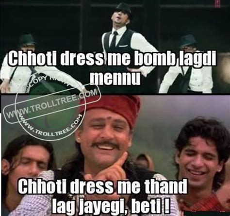 Indian Song Meme - share your remark on the trolls hindi jokes