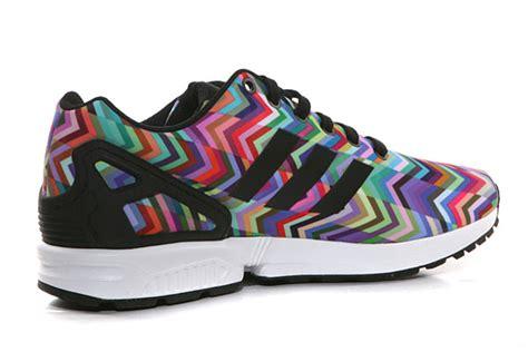 zx flux prism pattern adidas zx flux quot chevron prism quot sneakernews com
