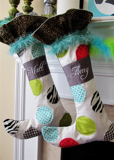 stocking pattern ideas whimsical christmas stocking pattern and tutorial