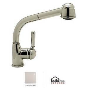 Rohl Kitchen Faucet Parts Rohl R7903 Satin Nickel Country Kitchen Faucet With Pull Out Spray And Metal Lev Ebay