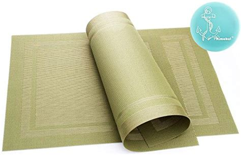 Placemat Dan Runner Set 04 vinyl placemats chilewich bamboo woven vinyl placemat
