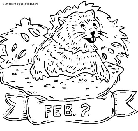 groundhog day anime groundhog day color page coloring pages for