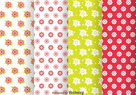 flowers girly pattern   vector art stock