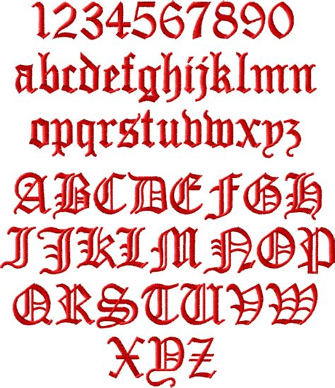 viking tattoo font generator abc designs old english alphabet machine embroidery for 4