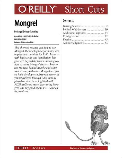 Cover Mongrel Book