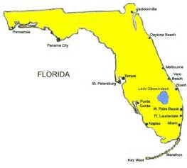 east coast florida map beaches