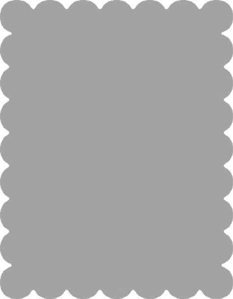 scalloped edge template scallop border png