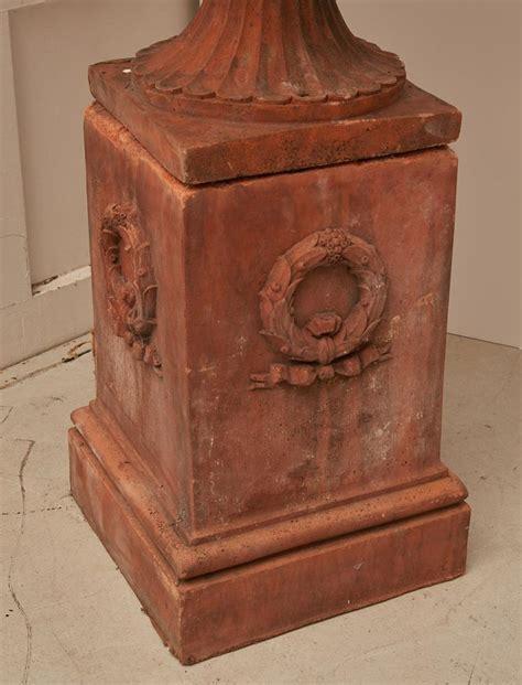 terra home decor large terra cotta type garden urn