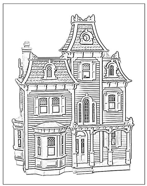 victorian house coloring pages free victorian houses coloring pages download and print for free