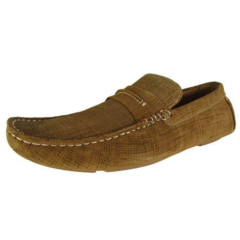 steve madden mens scratchd slip on moc toe loafer shoes ebay