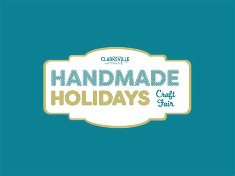 Handmade Holidays - clarksville parks and recreation hosts handmade holidays
