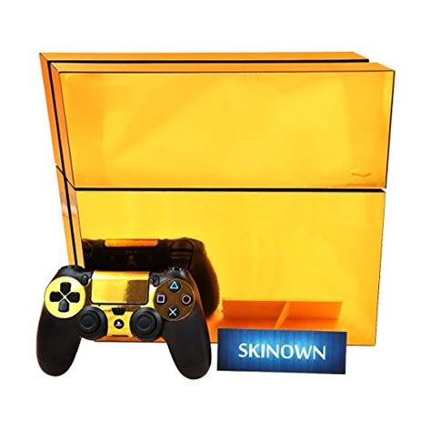 Ps4 Sticker Gold by Skinown Ps4 Skins Golden Skin Gold Sticker Vinly Decal