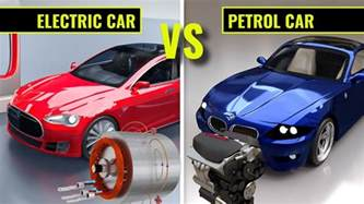 Electric Car Vs Gasoline Car Electric Cars Vs Petrol Cars