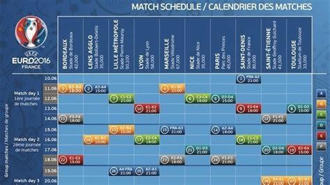 le calendrier de l uefa 2016 uefa news