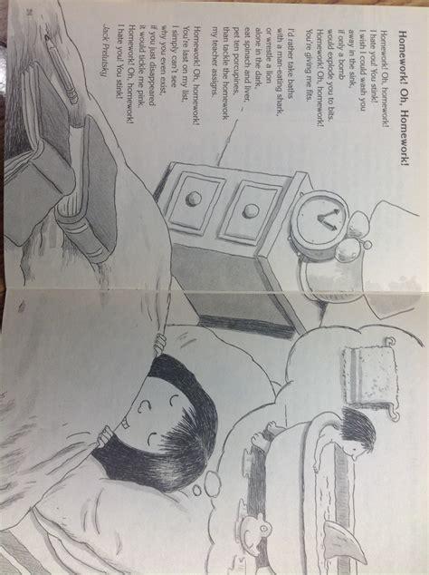 Shel Silverstein Homework by Homework Oh Homework Shel Silverstein Poem Buy Essay