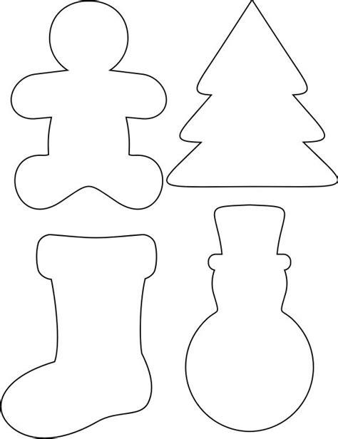 santa stencils printable christmas printables