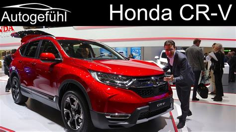 All New Honda Crv 2018 by Honda Cr V Review All New Crv Generation 2019 2018