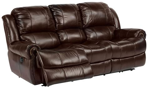 power leather sofa flexsteel latitudes capitol power reclining sofa with