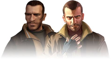 grand theft auto iv main characters