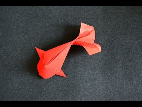 How To Make 3d Origami Fish - cny tutorial no 50 hongbao fish doovi