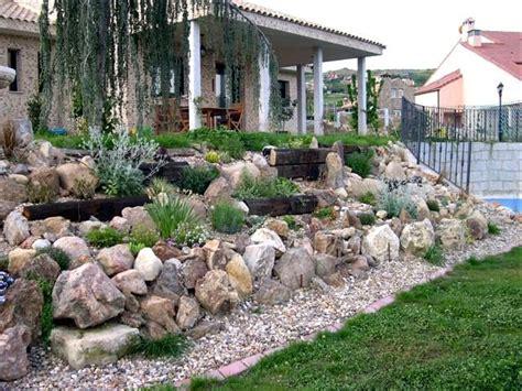 pflanzenauswahl garten ideen gestaltung steingarten hang ideen gestaltung