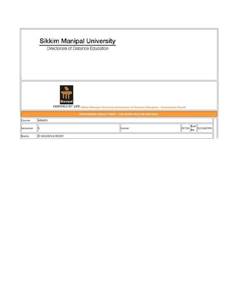 Sikkim Manipal Correspondence Mba by Sikkim Manipal Admissions 2014 2015 Courses