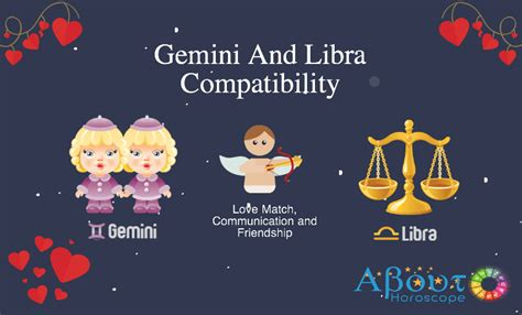 gemini and libra compatibility love match friendship