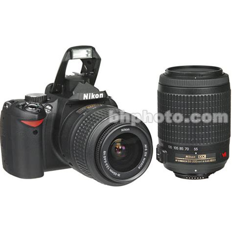 nikon d60 nikon d60 slr digital kit with 18 55mm vr lens 9609