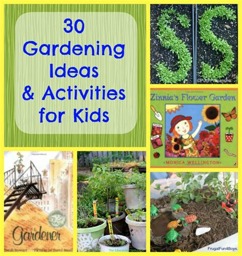 Gardening Lessons 30 Early Garden Crafts Ideas For Edventures With