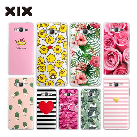 Marilyn 0035 Casing For Galaxy J5 Prime Hardcase 2d ᗑgrand prime g530 for for fundas samsung galaxy っ grand grand prime pink flower pc