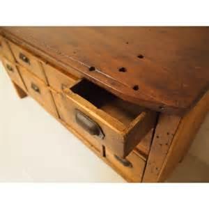 Desks With Drawers Vintage Haberdashery Drawers Workbench