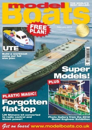 model boats subscription model boats magazine february 2013 subscriptions