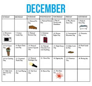 Calendar Of National Holidays The Kirkwood Call National Calendar December