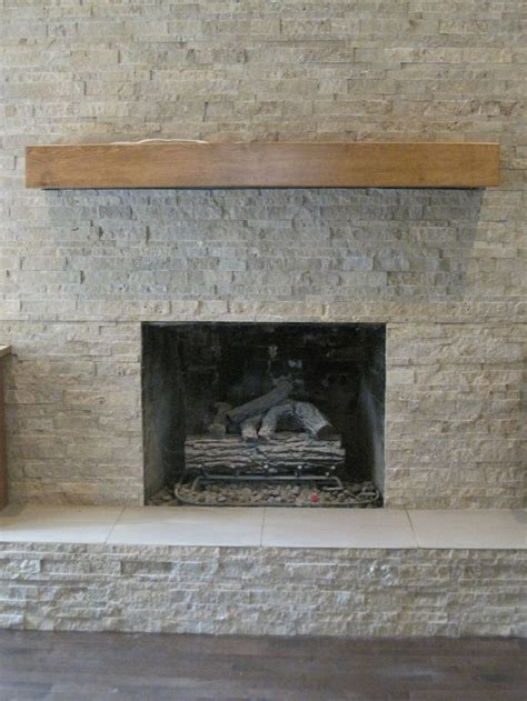 stone fireplace wall stacked stone fireplace all about the tile pinterest