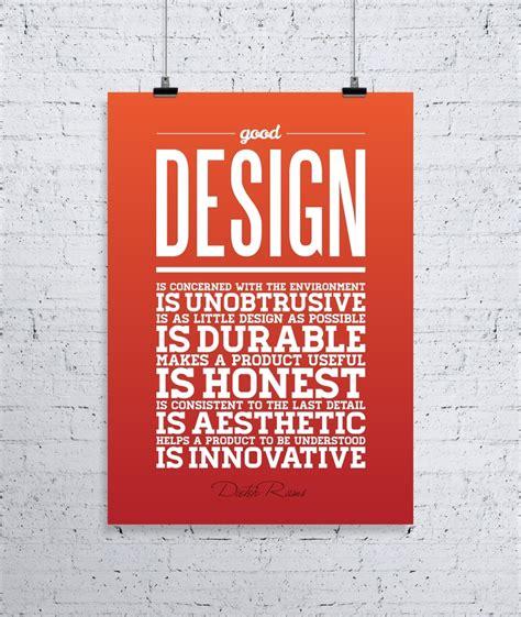 design what is it good for what design is good design poster osvaldas valutis