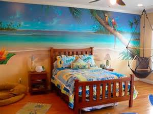 tropical themed bed room homedee