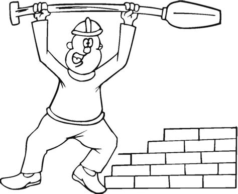 free construction site coloring pages