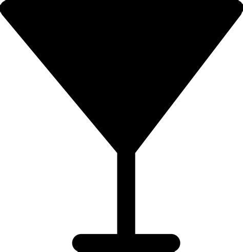 cocktail silhouette png glass of cocktail silhouette svg png icon free download